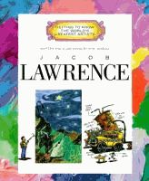 Jacob Lawrence written and illustrated by Mike Venezia.