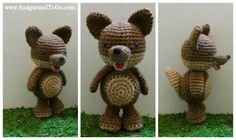 Video Wolf Amigurumi Free Pattern