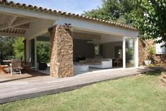 Country house near the village - http://www.aiximmo.ch/property/country-house-near-the-village/- This ancient house, renovated in 2000 and extended in 2012 is composed as follows :- Large entrance/office- Lounge/diningroom of 55 sqm- Kitchen- 1 Bedroom- 1 Shower-room with toilet- Utilityroom/laundryFirst floor :- 2 Bedrooms- Bathroom- ToiletElectric heatingHeated swimmingpoolAutomatic watering system