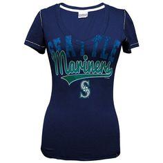 Seattle Mariners Baseball Tee - Women ($26) ❤ liked on Polyvore