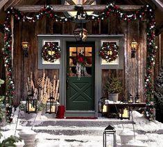 NapadyNavody.sk | 18 nápadov na vianočnú dekoráciu vchodových dverí