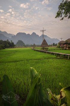 Vang Vieng. Voyage au Laos