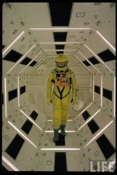 Frank Poole (Gary Lockwood) 2001: A SPACE ODYSSEY (1968)
