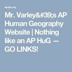 Final Review - AP Human Geography Class | AP Geography And ...