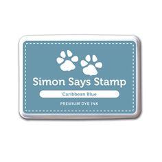 Simon Says Stamp Premium Dye Ink CARIBBEAN BLUE Ink031