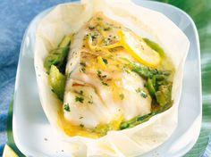 Découvrez la recette Cabillaud vapeur à la sauce citronnée sur cuisineactuelle.fr.