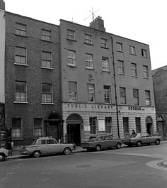 Capel Street Public Library (1978) Street Library, Dublin Ireland, Old City, Old Photos, Irish, Old Things, Public, Signs, Digital