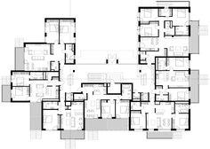 Galeria - Edifício Dzintaru 32 / SZK/Z Architects - 23