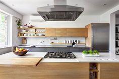 drewno + chrom = kuchnia