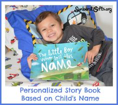 Personalized Story Book Based on Child's Name