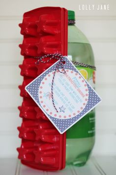 fizzy patriotic drink free printable tag