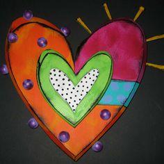 Double heart #3