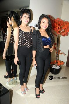 Sonu and Neha Kakkar at Kamaal R Khan aka KRK's birthday bash. Neha Kakkar Dresses, Sonu Kakkar, Indian Idol, Sis Loves, Indian Salwar Suit, Bollywood Actors, Bollywood Fashion, Business Fashion, Business Style