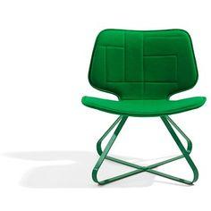modern green chair