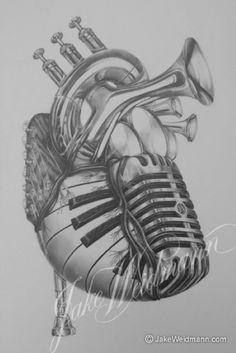 Music — Jake Weidmann • Calligraphy • Letter Design