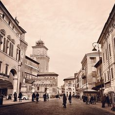 Ferrara, Corso Martiri - Instagram by @Nancy Fabbro
