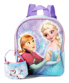 Look at this Frozen Elsa & Anna Mini Backpack & Coin Purse on #zulily today!