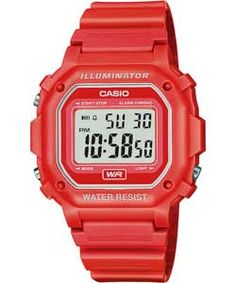 Looking for a timeless classic Casio Men's Red Digital Illuminator Watch that comes in a variety of different colours? This fantastic watch is suitable for any age group, whether you are on your way to school, work or going out for a jog. This reputable Casio is the ideal accessory for day-to-day use and part of the Great British Sport look from Argos.    Liked because of color, features and owning and wearing one.