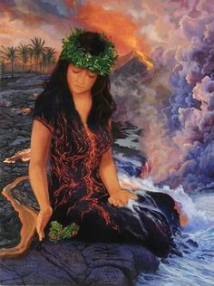 Hawaiian Goddess Pele
