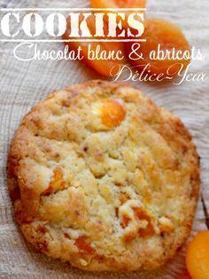Cookies chocolat blanc abricots