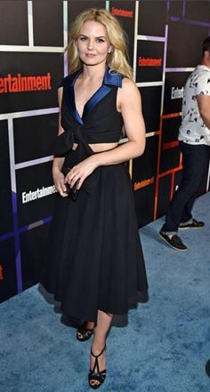 Jennifer on the rep carpet at the SDCC EW Party
