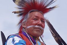 Native American leader Charles L. Tailfeathers
