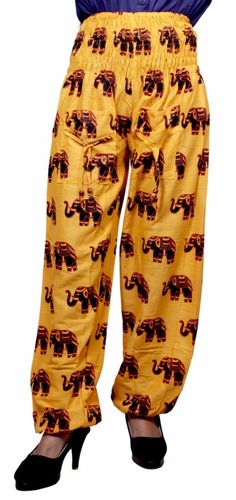 Cotton Elephant Print Boho Hippie Multi color Gypsy Yoga Trousers Pants AIP606 #Unbranded #CasualPants Yoga Trousers, Trouser Pants, Harem Pants, Elephant Print, Hippie Boho, Casual Pants, Clothes For Women, Gypsy, Cotton