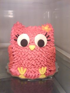 owl cake this would be cute for a baby shower or birthday party