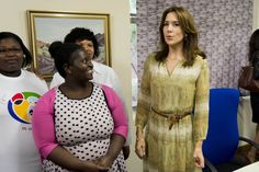 Crown Princess Mary of Denmark day 2 in South Africa 11/3/2014