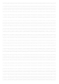Dotted Lined Paper Printables mm line height