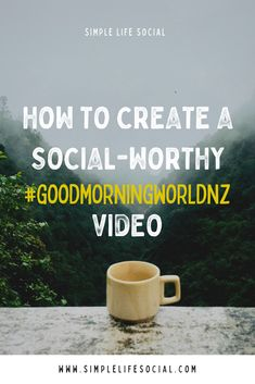 If you're a tourism business in New Zealand, creating a video will get you in on the research tourists are doing to prepare their travel to New Zealand. Good Morning World, The Marketing, Tourism, Social Media, Create, Business, Simple, Travel, Life