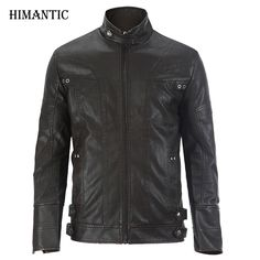 Leather Jacket Men chaqueta Jaqueta Couro Masculino Bomber Leather Jackets Coat Motorcycle Jackets jaqueta de couro masculina * AliExpress Affiliate's buyable pin. Find similar products on www.aliexpress.com by clicking the VISIT button #Men'sJackets
