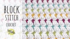 Learn to crochet the block stitch baby blanket by following this step by step tutorial and free, easy & quick video guide for beginners.
