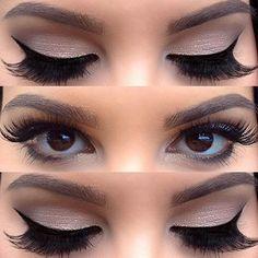 I like these eyes for wedding makeup