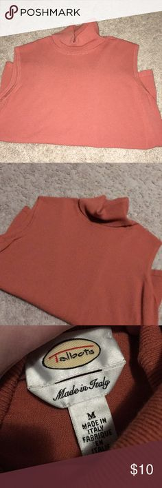Turtle Neck Burnt Orange turtle neck. No stains or rips Talbots Tops