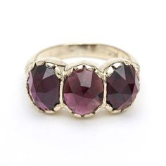 Arik Kastan Signature Garnet Ring from Gem Jewelry Lifestyle.
