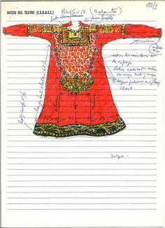 Brusa llarga de Tórtola Valencia a Danzas chinas MAE: I 180 Registre 252582 Tipologia: Col·lecció Indumentària Espectacle: Danzas chinas. [Dansa] Escena Digital: http://colleccions.cdmae.cat/catalog/bdam:252582