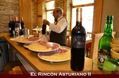 Todo listo para esta noche! Aun no tienes plan? qué tal comenzar por un buen vino o una sidra en tu Rincón Asturiano de siempre?