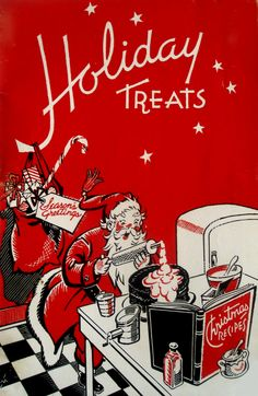 This Would B a Cute Cover 4 a Family Album of Holiday Treats 2 Give 2 Each Household - Holiday Treats - 1951