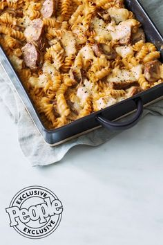 John Whaite's Taleggio Mac 'n' Cheese with Sausage Recipe Creamy Mac And Cheese, Macaroni And Cheese, Sausage Recipes, Cheese Recipes, 5 Ingredient Recipes Easy, John Whaite, Evaporated Milk Recipes, Homemade Vegetable Broth, Baked Cinnamon Apples
