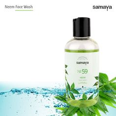 Samaya Neem Face Wash helps you get rid of irritating pimples and acne.
