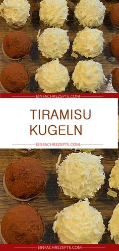 Tiramisu balls, a very tasty recipe from the confectionery category. - Tiramisu balls, a very tasty recipe from the confectionery category. Easy Smoothie Recipes, Healthy Smoothies, Easy Healthy Recipes, Healthy Snacks, Snack Recipes, Easy Meals, Cake Aux Fruits, Pumpkin Spice Cupcakes, Mets