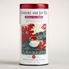 One of my favorite discoveries at WorldMarket.com: The Republic of Tea Comfort and Joy Tea