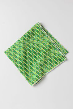 Windowpane Napkin   $4.95 @ anthropologie.com  (These come in different patterns, all of which would look really cool with my rag rug placemats.)