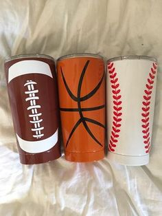 Sports Tumblers, Sports Personalized Tumblers, Football Tumbler, Softball Tumbler, Baseball Tumbler, Basketball Tumbler by TurpinKreations on Etsy