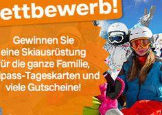 Gewinne mit Dosenbach und etwas Glück eine Skiausrüstung für die ganze Familie im Wert von CHF 3'000.- , sowie Skipässe und Dosenbach Gutscheine. http://www.alle-gewinnspiele.ch/skiausruestung-fuer-die-ganze-familie-gewinnen/