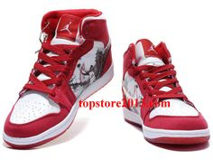 Air Jordan 1 (I) Retro Varsity Red/White      #Red  #Womens #Sneakers
