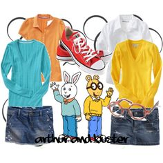 Arthur and Buster Costumes. I could totally be Arthur, actually