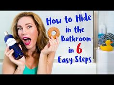 How to Hide in the Bathroom in 6 Easy Steps - My funny collab with Clorox will show you how to hide in the bathroom like a ninja mom! Parenting Done Right, Mom Quotes, Parenting Quotes, Hilarious, Funny, Mom Humor, Joker, Bathroom, Ninja