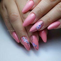 Romantic Nails, Elegant Nails, Stylish Nails, Trendy Nails, New Nail Art Design, Pink Nail Designs, Beautiful Nail Designs, Pink Nails, Gel Nails